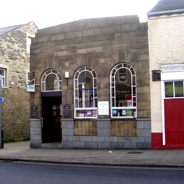 King Cross Library - King Cross Street, Halifax