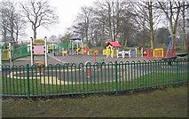 SE0823 : Playground - Manor Heath Park, Halifax by Betty Longbottom
