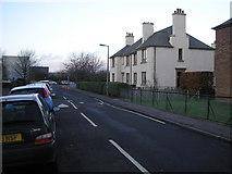 NT2276 : Royston Mains Street by Sandy Gemmill