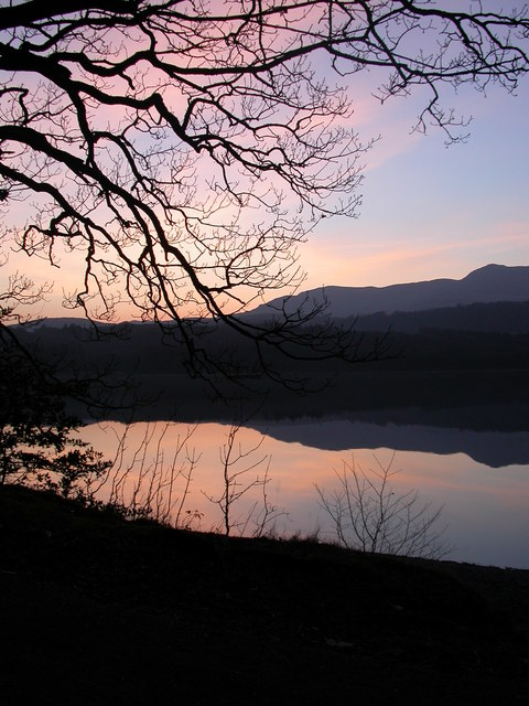 Coniston Water, Evening