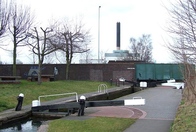 Wolverhampton Locks No 5