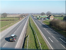 ST4718 : Another view of the A303 by Andy Pearce