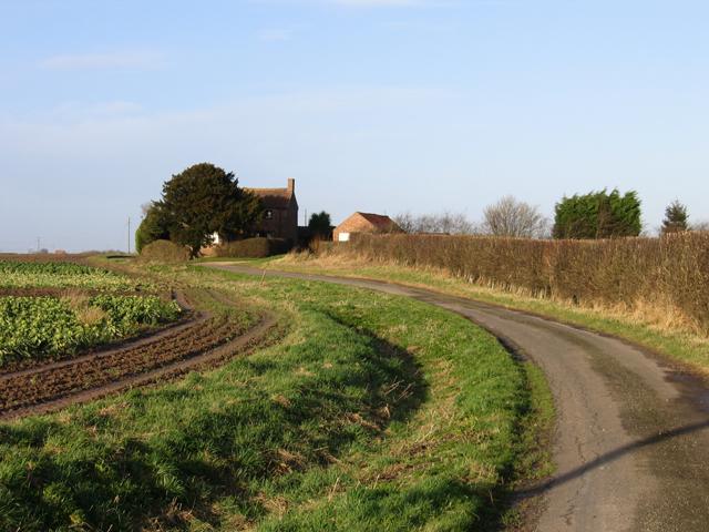 Eaudike Road, Donington Eaudike, Lincs