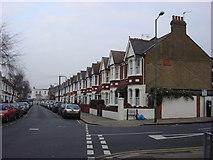 TQ2284 : Bertie Road by Oxyman