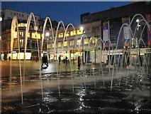 SJ3490 : Williamson Square, Liverpool by Cathy Cox