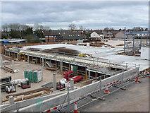 SP2871 : Construction of new supermarket, Kenilworth by Nigel Mykura