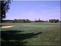 SU6154 : Weybrook Park - 11th Green by Alan Swain