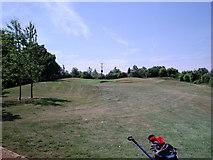 SU6154 : Weybrook Park - 15th Green by Alan Swain