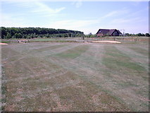 SU6154 : Weybrook Park - 18th Fairway by Alan Swain