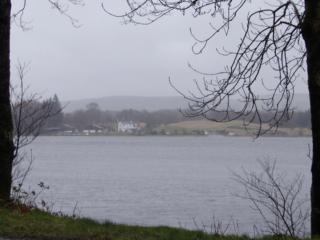 Galloway Sailing Centre from Cadger's Loop
