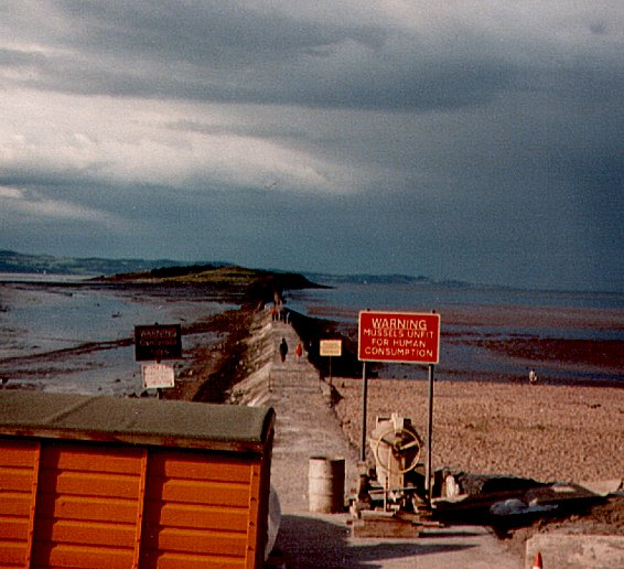 Cramond Island Causeway 1979