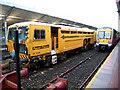 J5081 : Railway vehicle, Bangor station by Rossographer