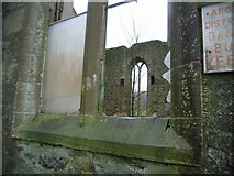 NS0567 : Abandoned Church - view through broken window by Nicholas Mutton