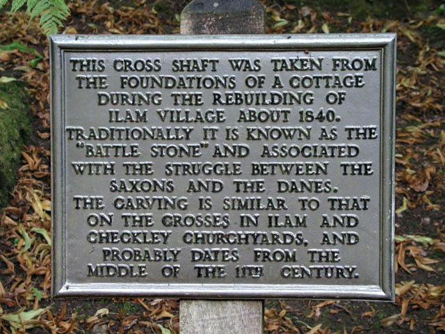 Battle Stone plaque