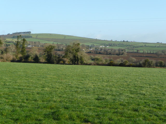 View north to Rathpierce Hill
