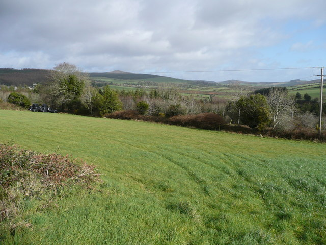 Looking across the upper Bann valley