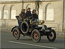 TQ3103 : Veteran Car - 1903 De Dion Bouton - Madeira Drive, Brighton, East Sussex by Christine Matthews