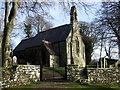 SN1343 : Eglwys Wythwr, bellcote by ceridwen