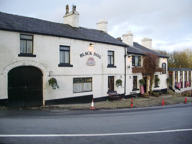 Black Dog, Church Street, Belmont