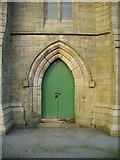 SD6715 : St Peters Parish Church, Belmont, Doorway by Alexander P Kapp