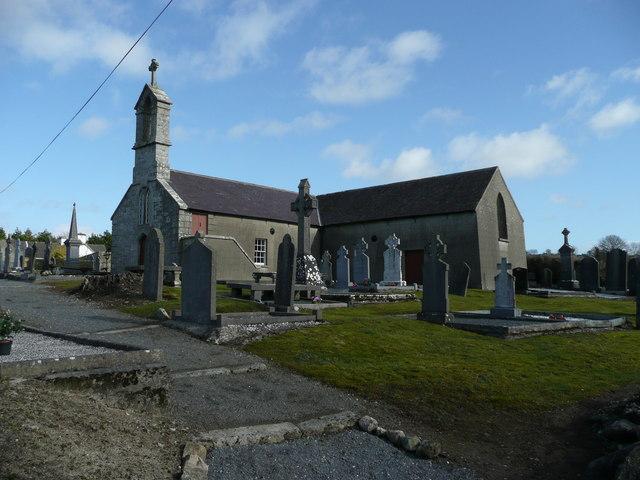 Coolalaw church