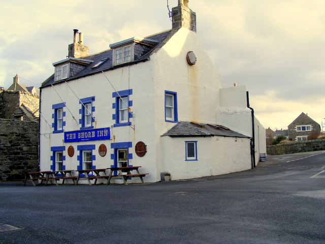 The Shore Inn at Portsoy