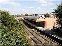 SP1955 : Stratford-upon-Avon railway station by Row17