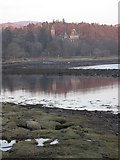 NM7047 : Ardtornish House from near Castle Cottage by Peter Bond