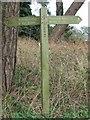 TF7804 : Peddars Way sign by Keith Evans