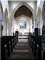 TF9308 : St Mary's church - view east by Evelyn Simak