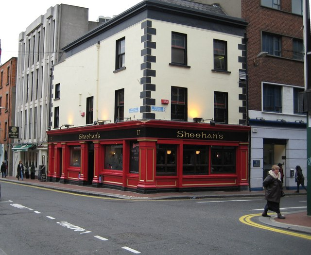 Sheehan's, off Grafton Street