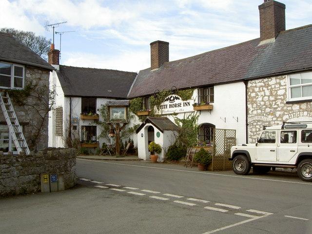 The White Horse Inn, Cilcain.