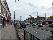 TQ7369 : High Street, Strood (1) by Danny P Robinson