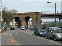 TQ7369 : Station Road, Strood by Danny P Robinson