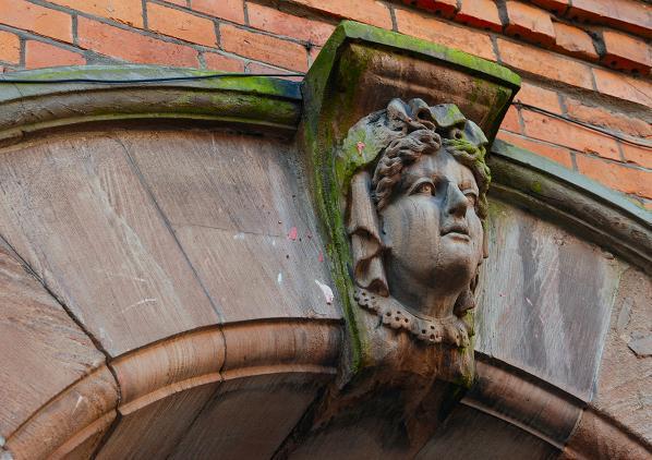 Head, Amelia Street, Belfast
