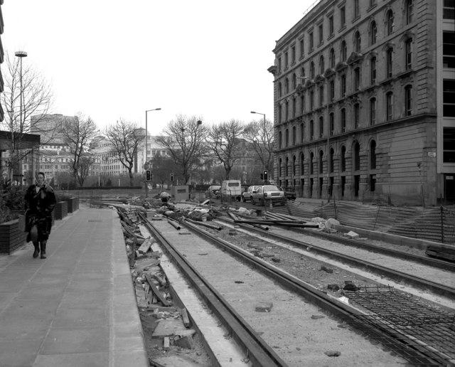 West end of Aytoun Street, Manchester