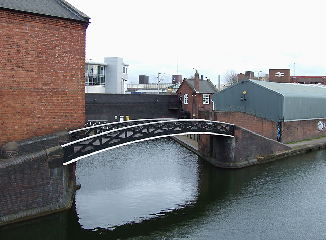 Wharf at Broad Street Canal Depot, Wolverhampton