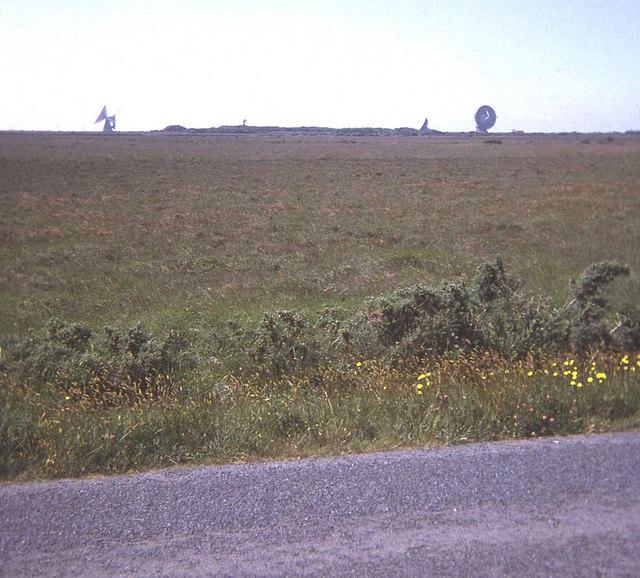 Lowland (Cornish) Heath at Goonhilly Downs