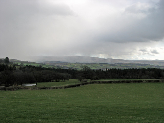 View from Cefncoed Bach Farm