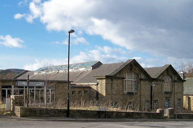 Old Waterworks Building at Low Bradfield
