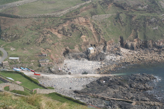 Priest`s Cove from Cape Cornwall