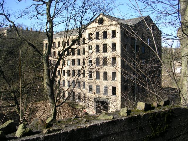 Derelict Mill - Old Lane
