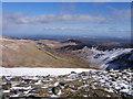 SH6963 : Looking down Cwm Eigiau by BrianPritchard