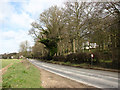 TG2138 : View north along the B1436 (Cromer Road) by Evelyn Simak