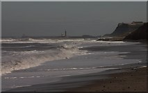 NZ8612 : Looking towards Whitby from Sandsend Wyke by Colin Grice