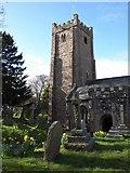 SX7087 : St Michael's Church, Chagford by Derek Harper