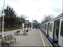 TQ2473 : Southfields Underground Station by Stacey Harris