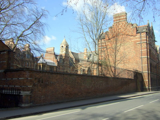 Keble College and old graffiti