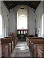 TG2633 : The church of St Giles - view west by Evelyn Simak