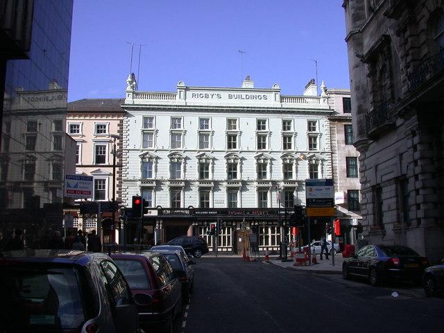Rigby's Buildings, Dale Street